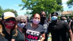 UHS Alum and Current Students Organize Black Lives Matter March